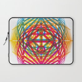 4 Corners of Abundance (wide) Laptop Sleeve