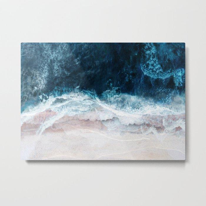 Blue Sea II Metal Print