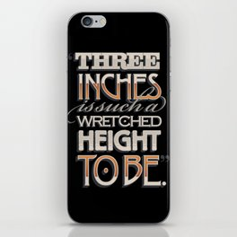 Wretched Height iPhone Skin