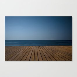 Watching fish swim Canvas Print