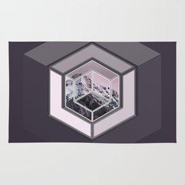 Mountain Cube Rug