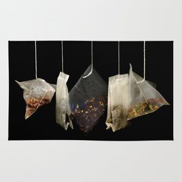 Teabags Hanging in the Air Rug