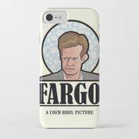 fargo iPhone & iPod Cases featuring FARGO - A Coen Bros. Picture by Damn Fine Design