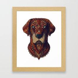 Labrador (Color Version) Framed Art Print