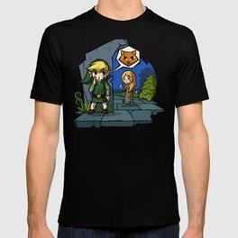 Legend of Zelda Wind Waker Meow T-Shirt T-shirt
