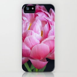 Romantic Pink Peony iPhone Case