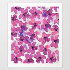 Floral Pattern B Art Print
