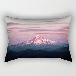 Mount Hood XI Rectangular Pillow