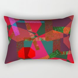 PARTY-COLORED Rectangular Pillow
