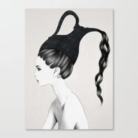 kpop Canvas Prints featuring Aquarius by Jenny Liz Rome