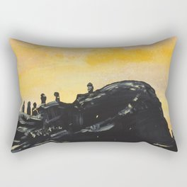 Trench Rectangular Pillow