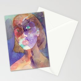 Nothing Is More to Me Than Myself Stationery Cards