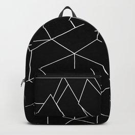 White Lines on Black III Backpack