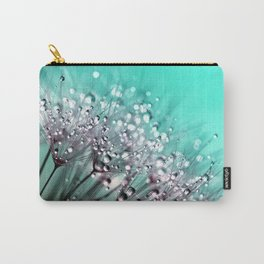 Dandelion Blowball Macro Close Up Carry-All Pouch
