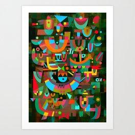 Schema 7 Art Print