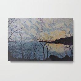Sunset on the Potomac River Metal Print