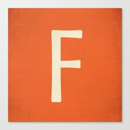 Ff Canvas Print