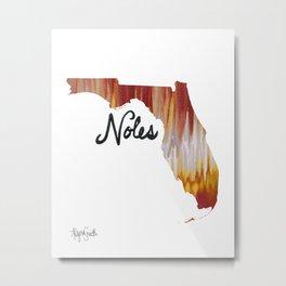 Noles Metal Print