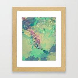 Little golden fish Framed Art Print