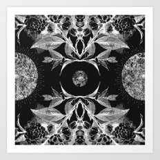 BLACK AURA Art Print