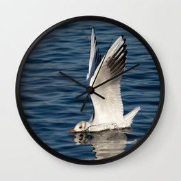 The Seagull Has Landed Wall Clock