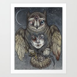 Ghosts in the Night Art Print