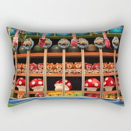 Winners and Losers Rectangular Pillow