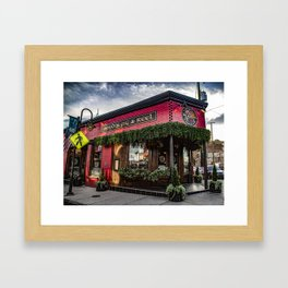 Boyds Jig and Reel Pub Framed Art Print