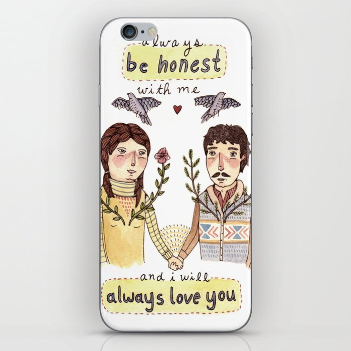Always Be Honest iPhone Skin