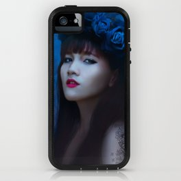blue velvet iPhone Case