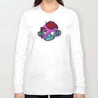 tomb raider Long Sleeve T-shirts featuring Panty Raider by Artistic Dyslexia