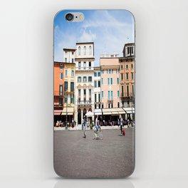 Bike Through Verona iPhone Skin