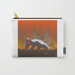 Rejected Kaiju #1 (Honey Badger) Carry-All Pouch
