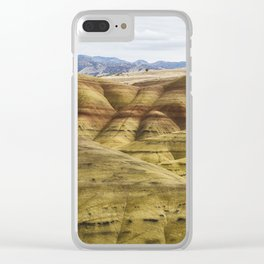 Time in Layers Clear iPhone Case