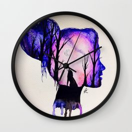 All in her Head Wall Clock
