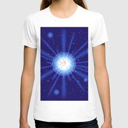 blue light effect T-shirt