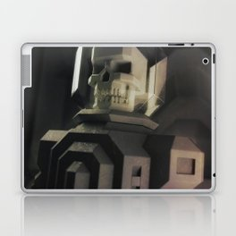 Necronaut low-polygon 3D artwork Laptop & iPad Skin