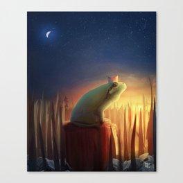 Long Waitings Canvas Print