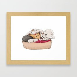 Topotto Christmas Framed Art Print