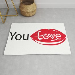 you love me Rug