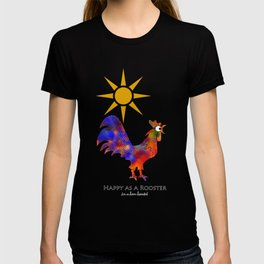 Rooster Pattern T-shirt