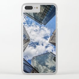 Glass Towers Clear iPhone Case