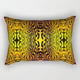 Asiatic pattern Rectangular Pillow