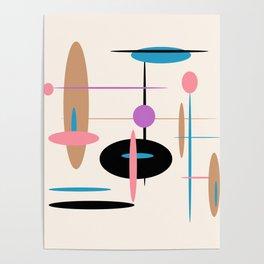 Candys Atomic Retro Design Poster