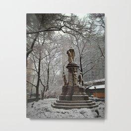Verdi Square New York City Metal Print