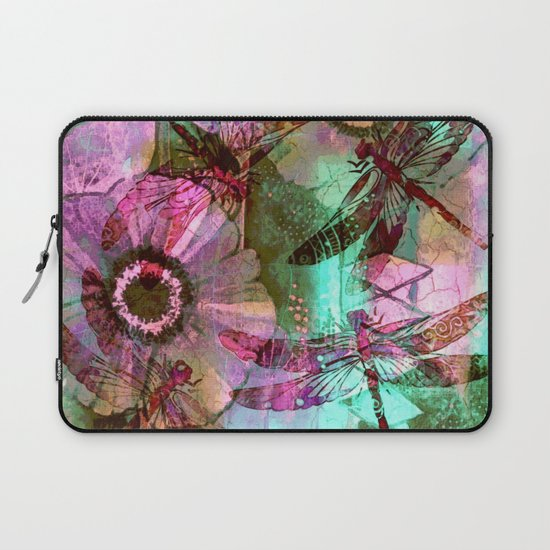 Dragonflies in a Dream Laptop Sleeve