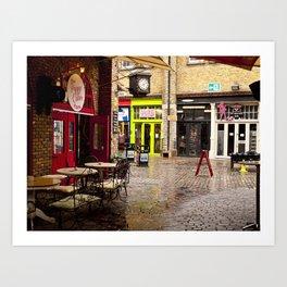 Camden Stables Market Art Print