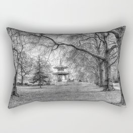 The Pagoda Battersea Park London Rectangular Pillow