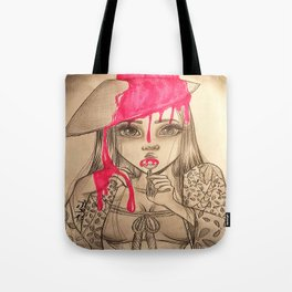 Oriental Lollipop Tote Bag