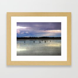 Lake Lonsdale Framed Art Print
